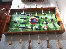 Futbolin NUEVO EN MADERA 78cm x 46cm