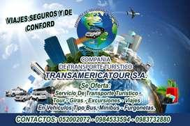 SERVICIOS DE TRANSPORTE TURISTICO NACIONALES