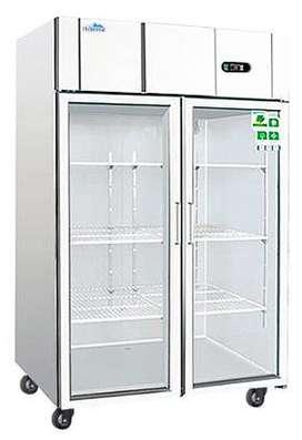 Congelador Puerta de Vidrio Importado