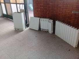 Caldera y 10 radiadores Baxi Eco 280