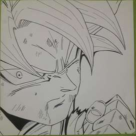 Dibujos a medida anime dragon ball z,naruto y retratos