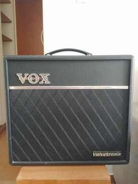 Amplificador VOX VTX Series VT40X Combo Valvular 40W negro