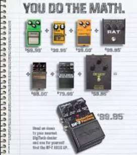 REMATO!! Pedal Digitech DF-7 Factory