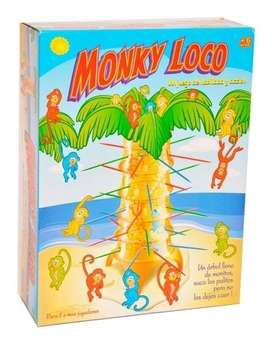 Monkey Loco -Juego infantil Ditoys