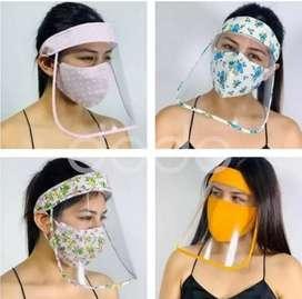 Protector Facial + Mascarilla - Vincha Mascarilla