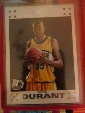 Tarjeta de La Nba Kevin Durant Rookie