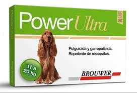 Power Ultra Pipeta Antipulgas Y Garrapatas 11-20kg Perros Oferton!!