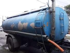 Tanque de agua para tanquero