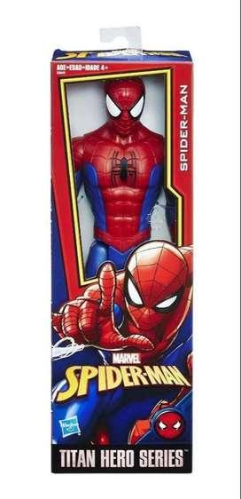 Muñeco Hombre Araña Spider-Man 30 cm Original Hasbro
