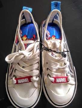 Tennis Converse Super Heroe Marvel nuevos