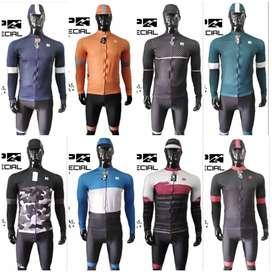 Jerseys uniformes para ciclismo pro