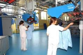 Calidad Textil Lavandería o Tintorería Producción