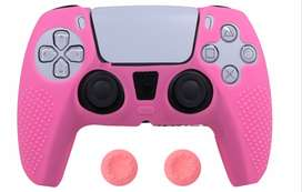 Combo Funda Control Playstation5 + Par De Grips