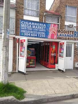 Vendo Cigarrería muy bien ubicada.