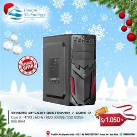 OFERTA NAVIDEÑA !! CPU INTEL CORE I7 4TA Y 7MA GENERACIÓN