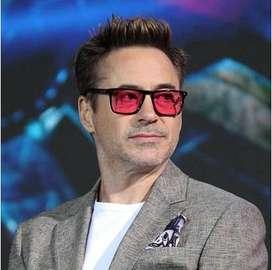 Lentes De Sol Cuadrados Square Estilo Iron Man Tony Stark