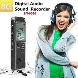 Grabadora De Voz Digital ,reproductor De Mp3 8 Gigas-tienda