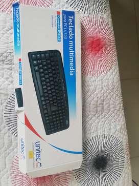 teclado multimedia para computadora de mesa