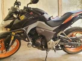 Honda CBR 190 Negra