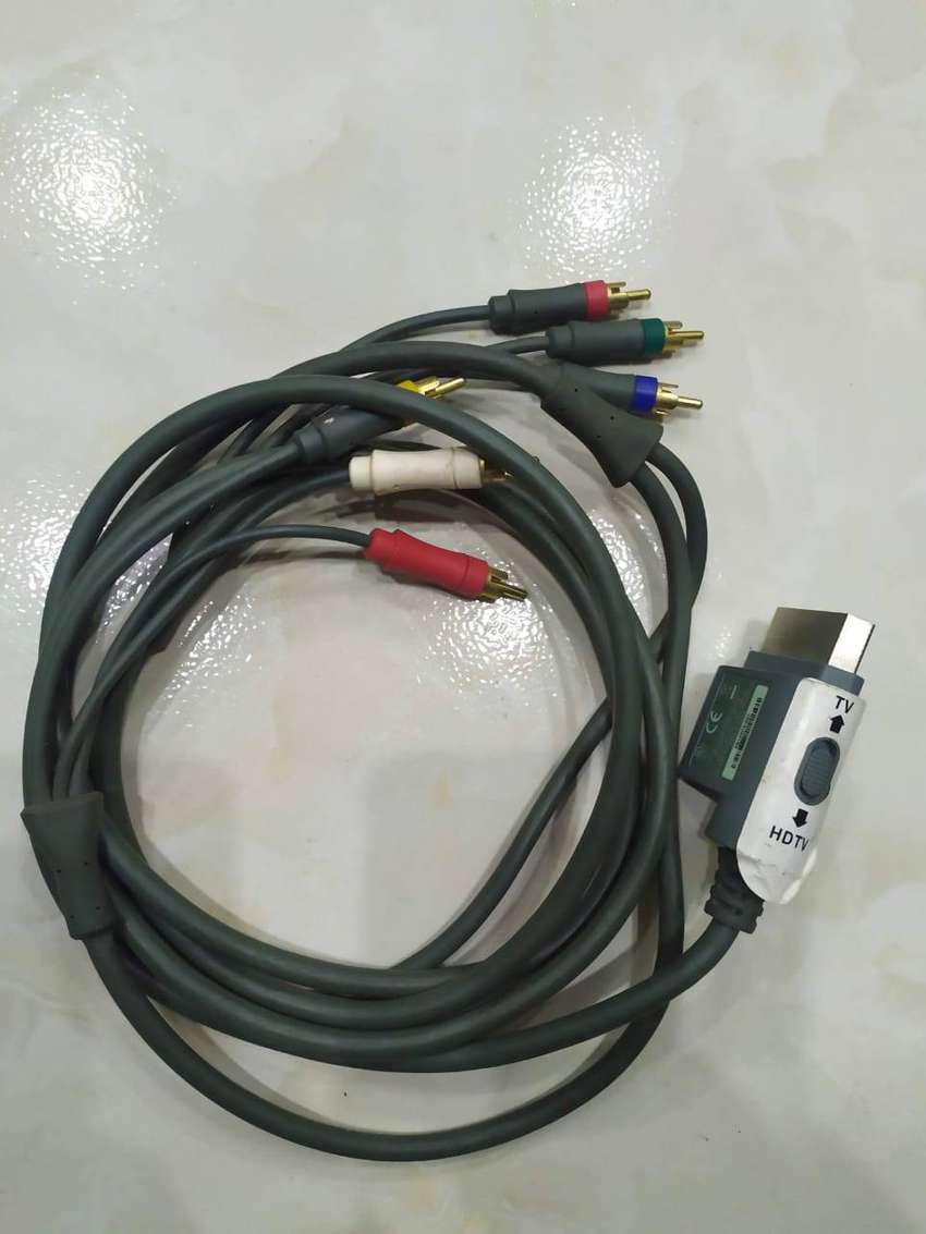 Cable Av PREMIUM COMPONENTE HD AV CABLE PARA MICROSOFT XBOX 360 / XBOX 360 SLIM