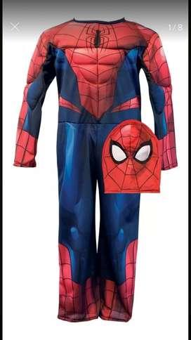 Vendo disfraz hombre araña