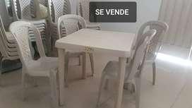Mesas y sillas Rimax