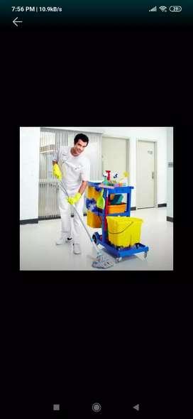 se ofrece trabajo de limpieza