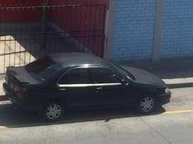 nissan sunny 98, color negro automatico