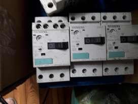 Interruptores Guardamotores Siemens  contactores auxiliares