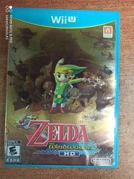 The legend ofc Zelda wind Walker hd Wii u