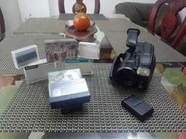 Kit decasettes y filmadora