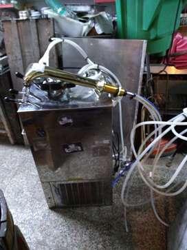 Chopera eléctrica con tres salidas