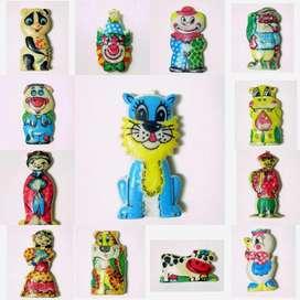 Jack Chatos 3 Figuras A Eleccion X 120 Coleccion 1995