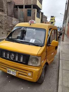 Ocasión Minivan Dongfeng V27- 15 000 soles - dual GNV-gasolina. Documentos en regla con Setame. 7 asientos