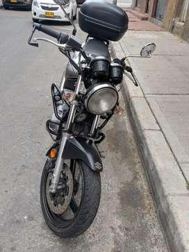 Suzuki Gs500 Modelo 2008