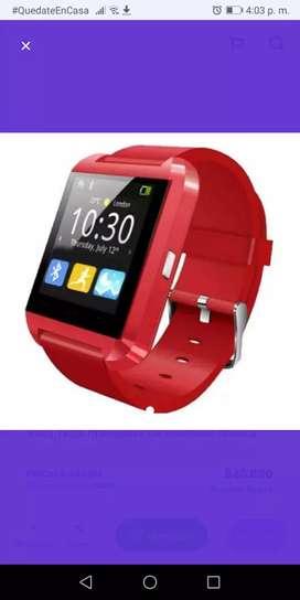 Reloj Tactil Inteligente U8 Bluetooth Musica Sms Camara