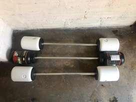 Barra multi uso 20 kilos