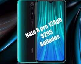 Xiaomi redmi note 8 pro 128gb $295 nuevo