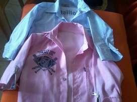 2 camisas para niño + 2 jean