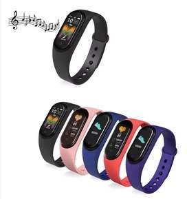 Oferta!! Brazalete inteligente pulsera con reloj contador de pasos y calorías.