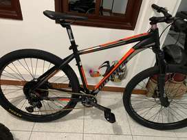 Bicicleta todoterreno mtb