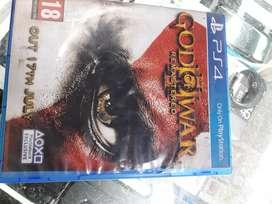 Dios de guerra remasterizada play 4