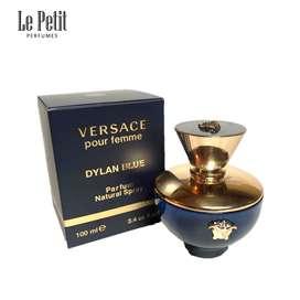 Perfume Dylan Blue Pour Femme Versace 100ML 3.4 OZ
