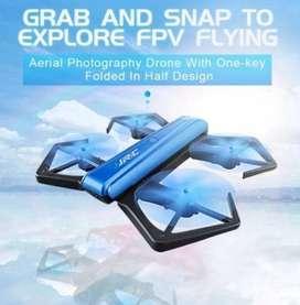Mini Dron con cámara HD 720P, helicóptero RC, mantenimiento de la altitud, modo sin cabeza plegable RC Quadcopter VS E58