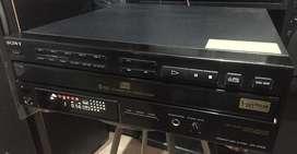 Compactera sony 5 discos