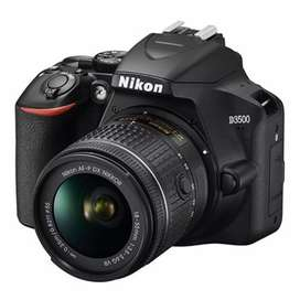 Camara nikon D3500 nueva con lente 18-55
