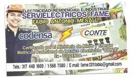 ELECTRICISTA RESIDENCIAL EXCODENSA