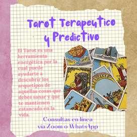 LECTURA DE TAROT PREDICTIVO Y TERAPEUTICO