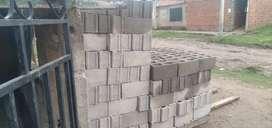 Blok de cemento $50 c/u