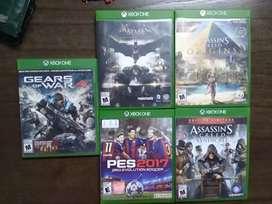 Vendo juegos xbox one y ps4